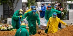 Brasil registra mais 2.311 mortes por Covid-19 em 24h